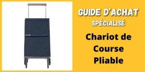 chariot de course pliable